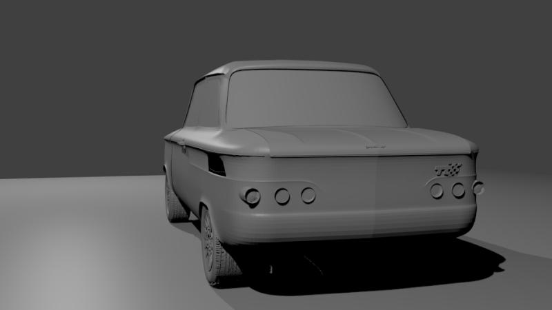 Une TT en 3D Evo1410
