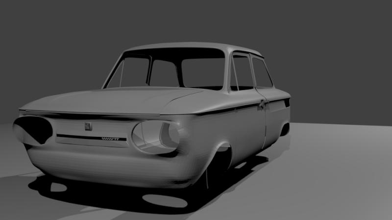 Une TT en 3D Evo1610