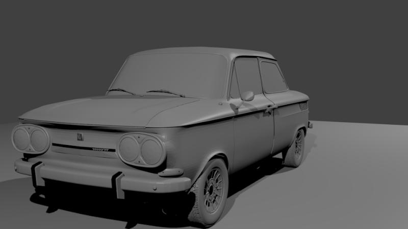 Une TT en 3D Evo2110