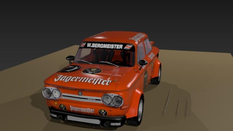 3D NSU TT Jagermeister Réplica Evo22710