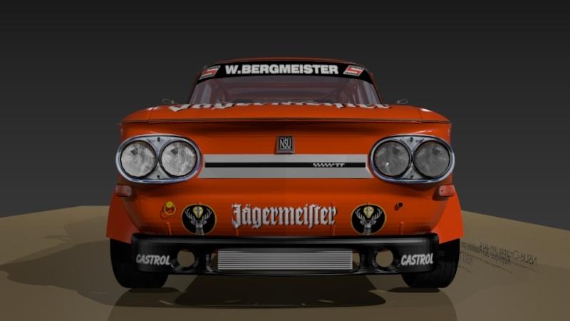 3D NSU TT Jagermeister Réplica Evo23610