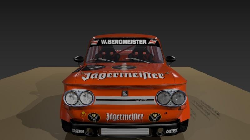 3D NSU TT Jagermeister Réplica Evo23710