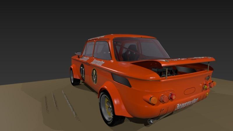3D NSU TT Jagermeister Réplica Evo24110