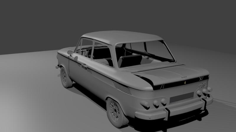 Une TT en 3D Evo3510