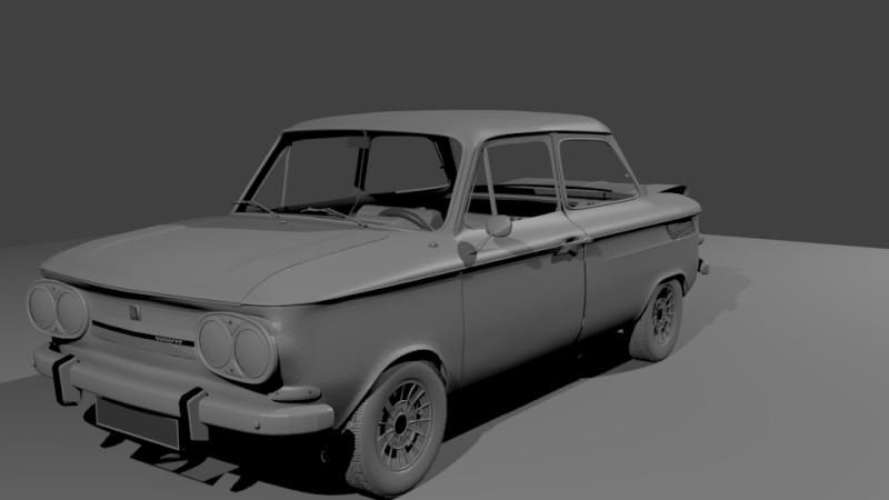 Une TT en 3D Evo3610