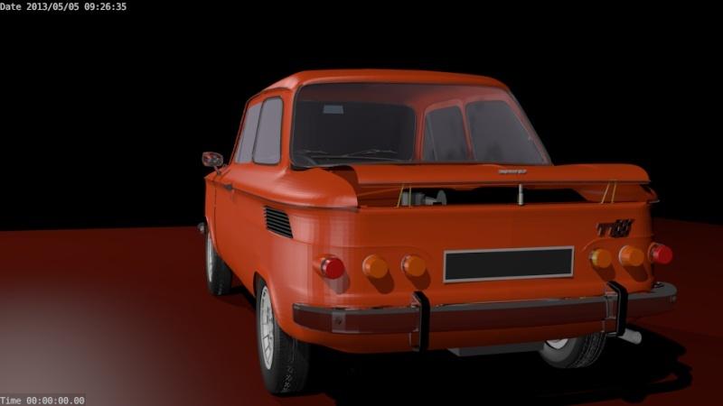 Une TT en 3D Evo4210