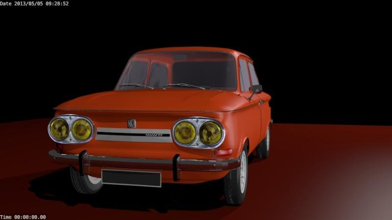 Une TT en 3D Evo4310