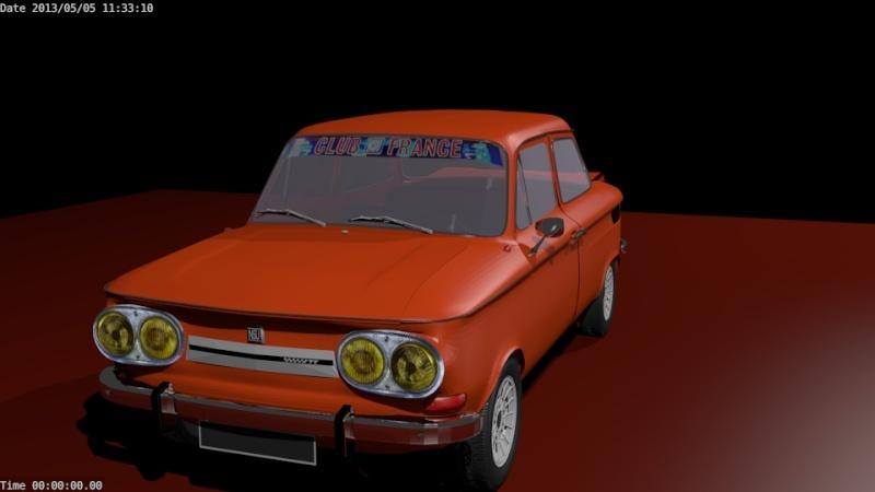 Une TT en 3D Evo4410