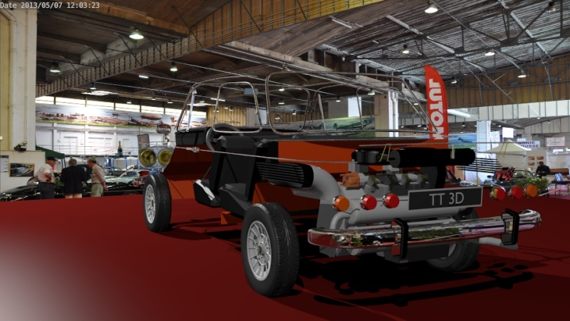 Une TT en 3D Evo6210
