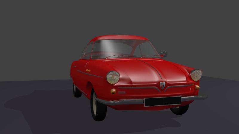3D NSU coupé Prinz Prinz_10