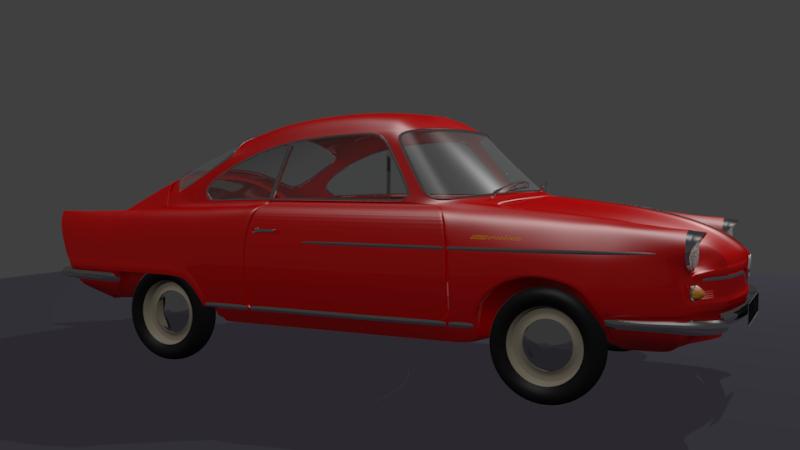 3D NSU coupé Prinz Prinz_12