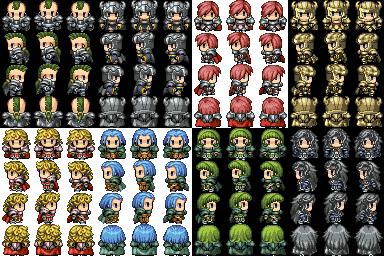 Chara de l'Edell + bonus icones magies Ganara10