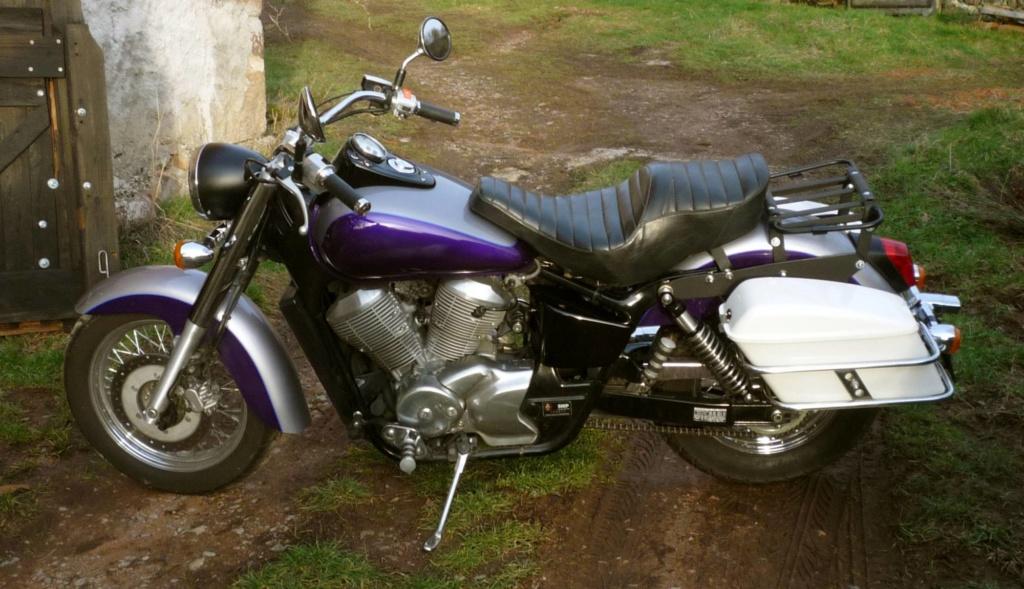 Shadow Ace 750 1999 : Nouvelle bête en transformation esthétique P1010138