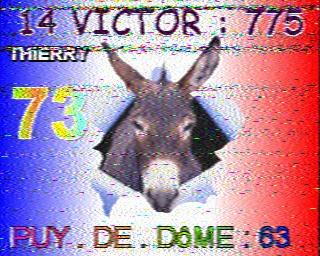 AMATEUR SSTV  Hist1110