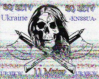 AMATEUR SSTV  Hist6210