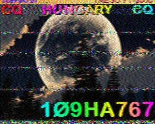 AMATEUR SSTV  Hist7910