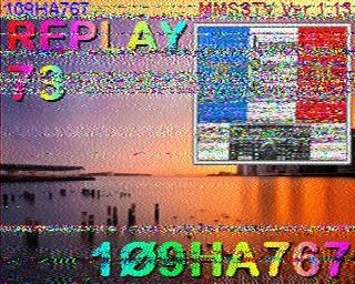 AMATEUR SSTV  Hist8010