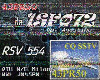 AMATEUR SSTV  Hist8210