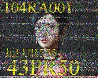AMATEUR SSTV  Hist8410