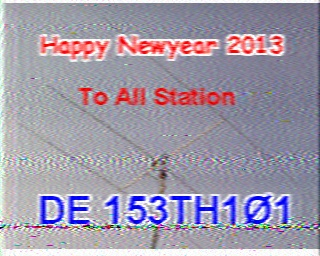 AMATEUR SSTV  Hist9010