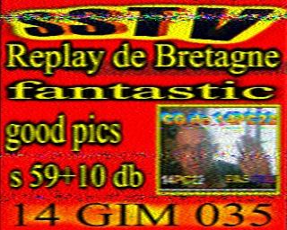 AMATEUR SSTV  Hist9810