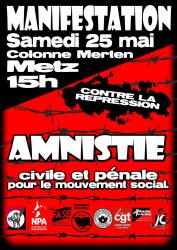 Répression syndicale Amnist10