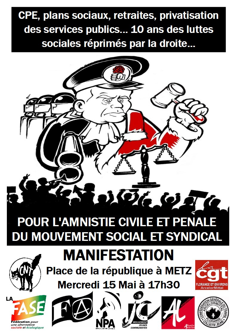 Répression syndicale Antire12