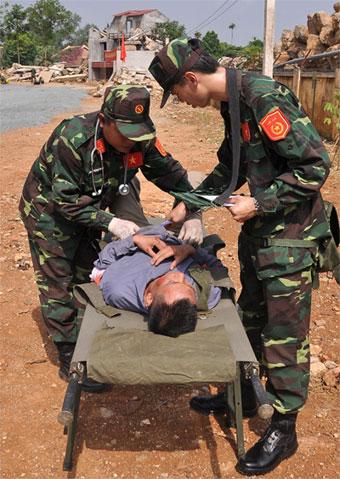 Chủ động hội nhập quốc tế và khẳng định khả năng, trình độ cứu hộ, cứu nạn 55134310