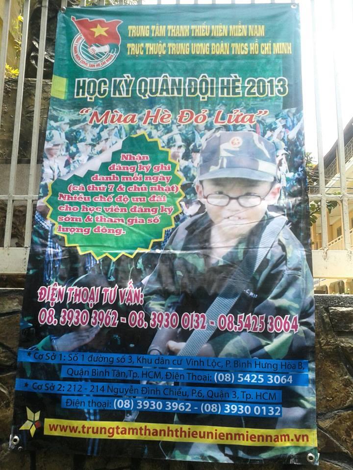 Quảng cáo cho Học kỳ quân đội 2013 K310