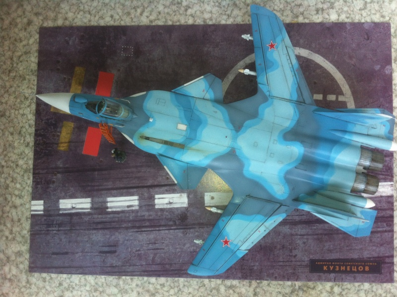 "Sukhoi SU-47 K (""navalisé"") HOBBY BOSS 1/72 (What-if) Su-47_35"