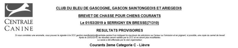 Les bbg en brevets saison 2018/2019 Lievre10