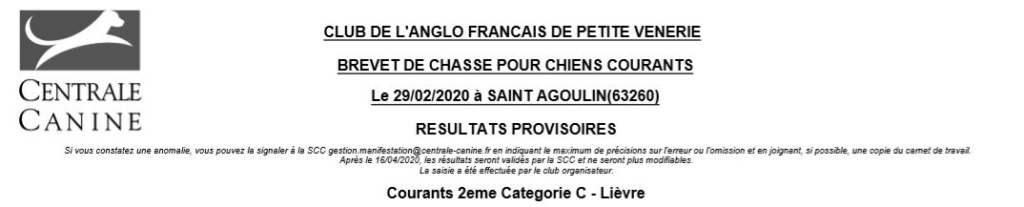 Les bbg en brevets - saison 2019/2020 Lievre18