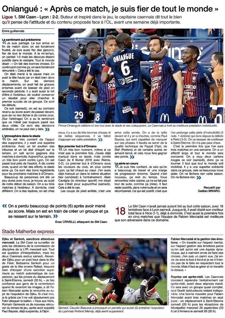 [5e journée de L1] SM Caen 2-2 O Lyon - Page 3 Img_2018