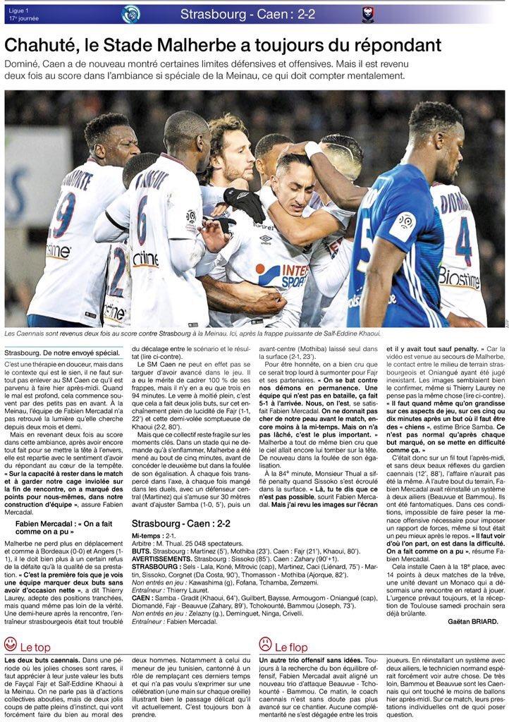 [17e journée de L1] RC Strasbourg 2-2 SM Caen - Page 2 Img_2038