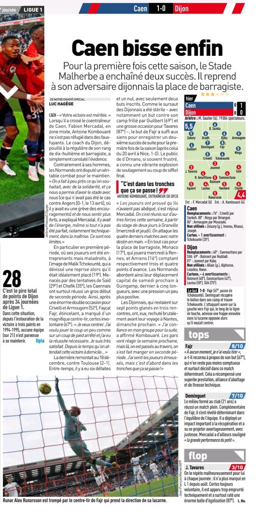 [34e journée de L1] SM Caen 1-0 Dijon FCO Img_2049