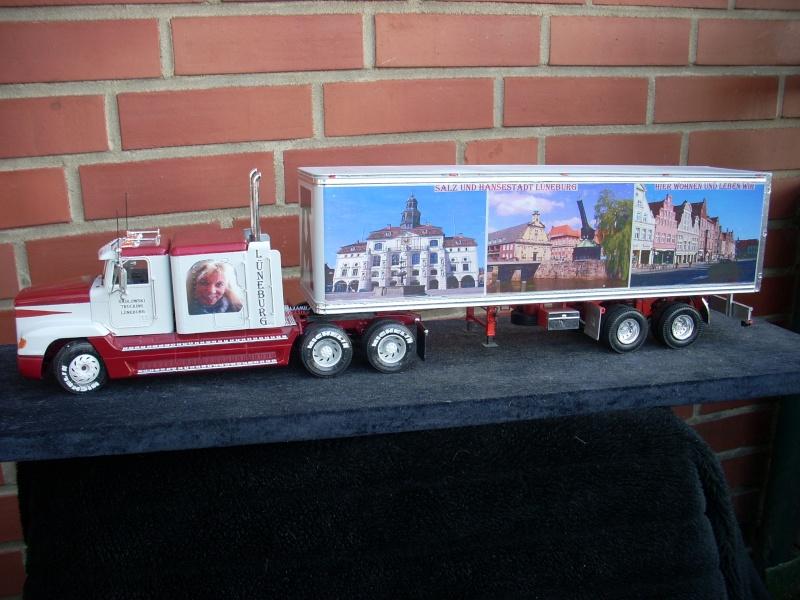 """Freightliner FLD 120 mit Trailer..""""Lüneburg-Truck"""" 00110"""