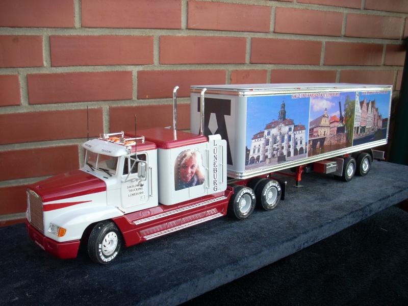 """Freightliner FLD 120 mit Trailer..""""Lüneburg-Truck"""" 00210"""
