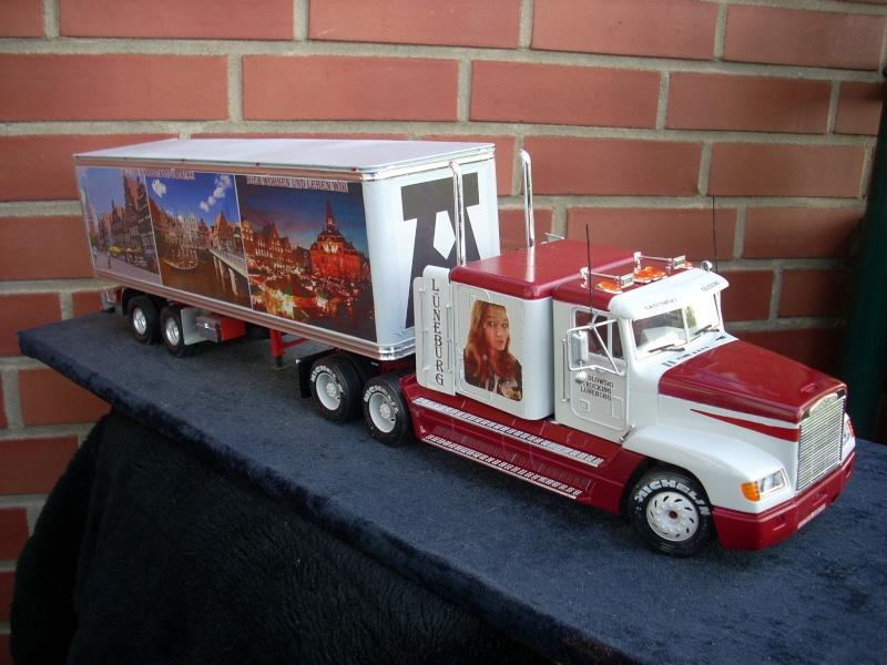 """Freightliner FLD 120 mit Trailer..""""Lüneburg-Truck"""" 00410"""