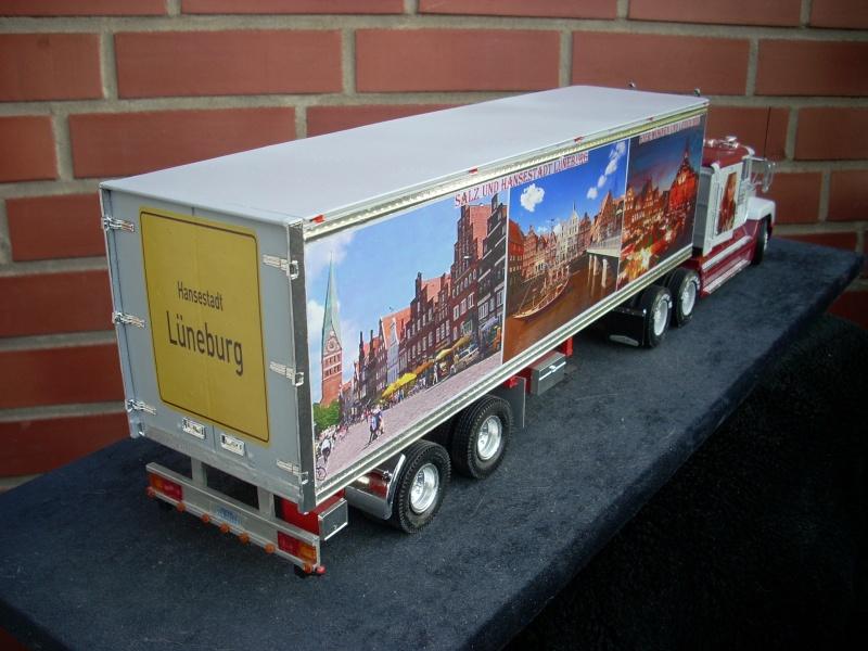 """Freightliner FLD 120 mit Trailer..""""Lüneburg-Truck"""" 00710"""