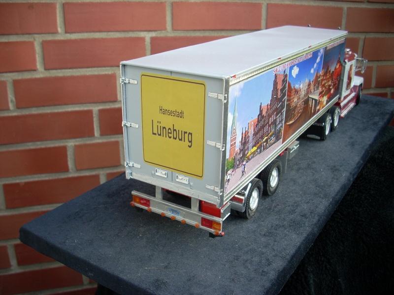 """Freightliner FLD 120 mit Trailer..""""Lüneburg-Truck"""" 00810"""