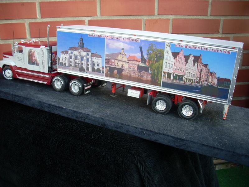 """Freightliner FLD 120 mit Trailer..""""Lüneburg-Truck"""" 01110"""