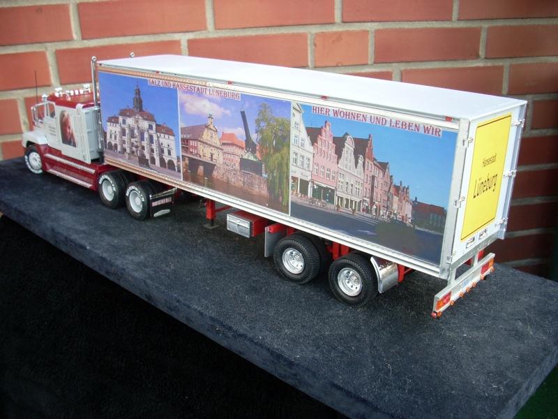 """Freightliner FLD 120 mit Trailer..""""Lüneburg-Truck"""" 01210"""