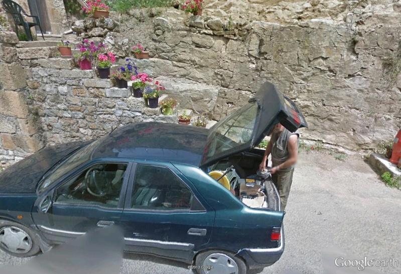 STREET VIEW : mon beau père devant chez moi Pano14