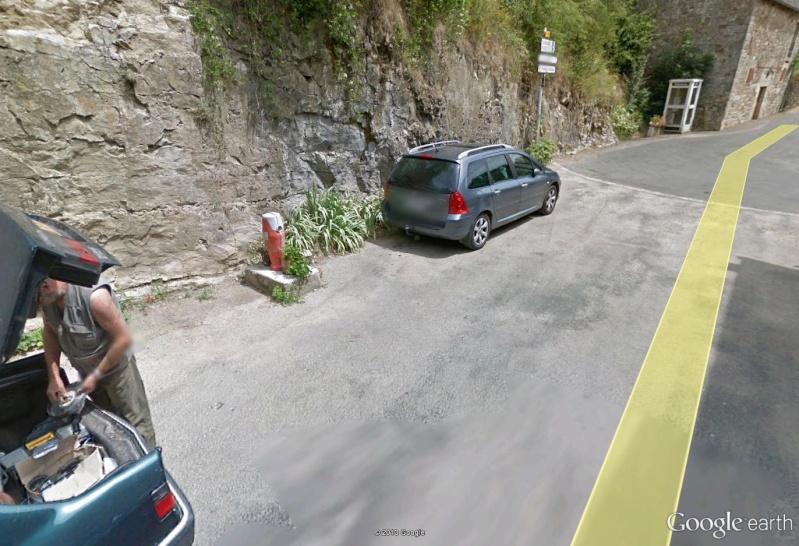 STREET VIEW : mon beau père devant chez moi Pano15