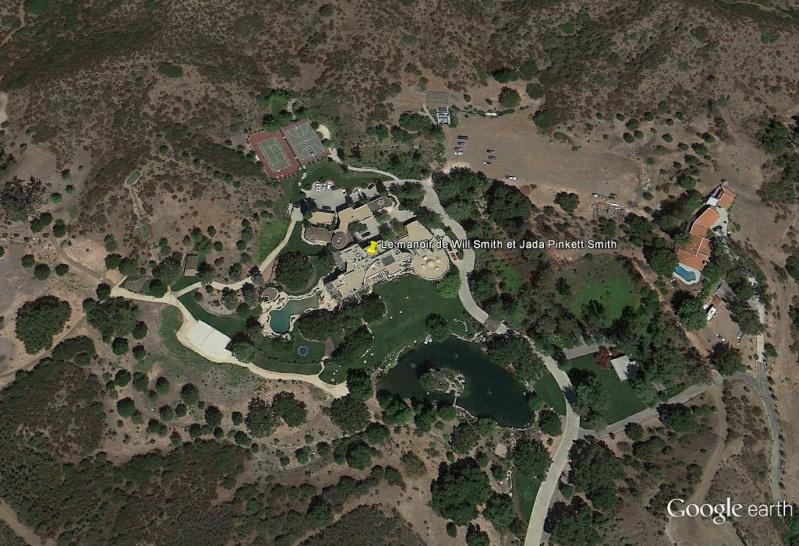Le manoir de Will Smith et Jada Pinkett Smith, Monte Nido, Californie - USA Sans_t21