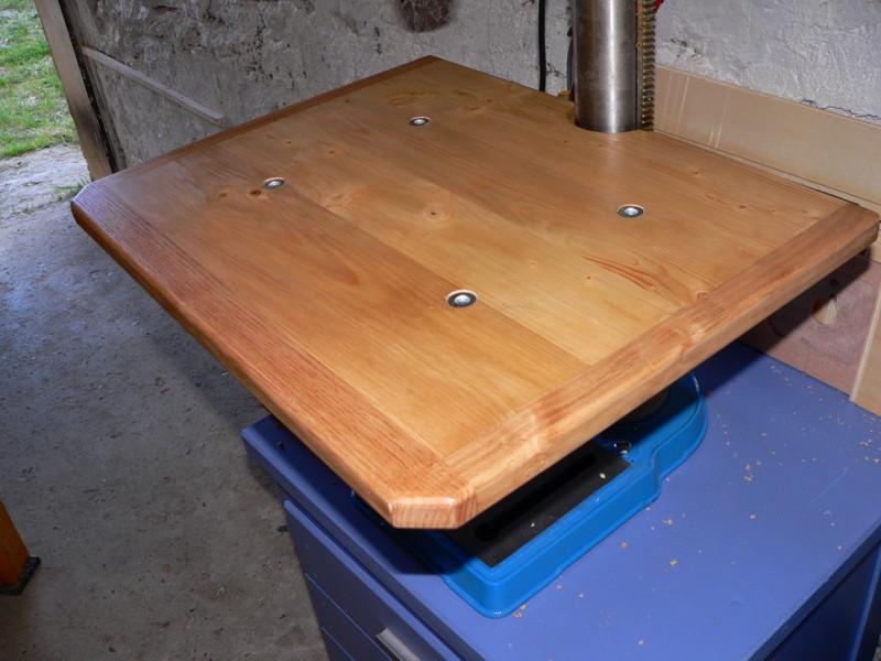 Table pour perceuse à colonne Tablef13