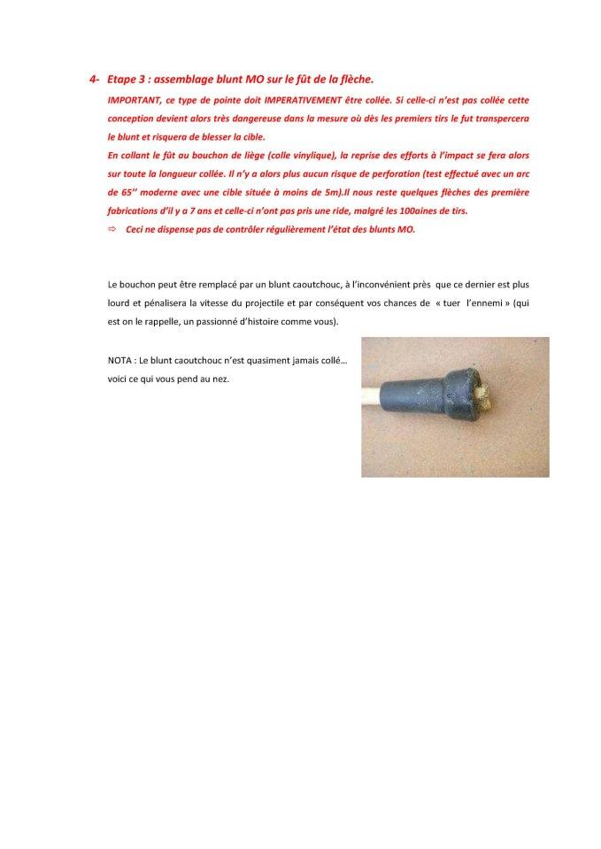 Projectiles recommandés 510