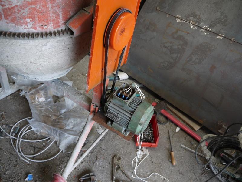 [Maintenance] Sauvetage d'une Bétonnière BricoD P1010313