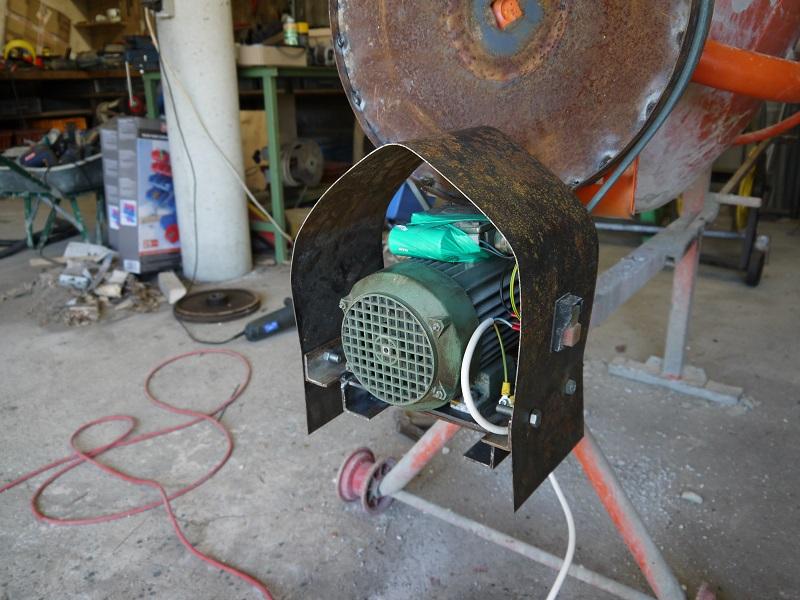 [Maintenance] Sauvetage d'une Bétonnière BricoD P1010317