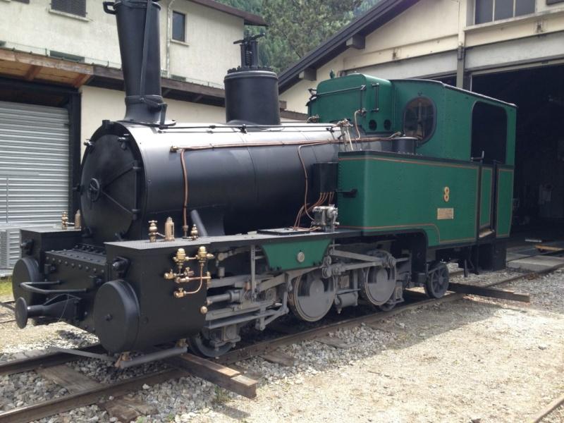 la dahu n°6 remplacé par la 8 devant la gare du montenvers Img_0310